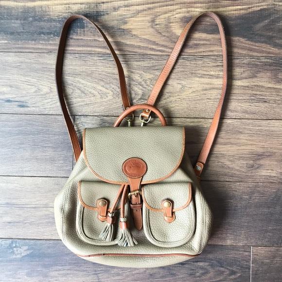 Vintage Dooney \u0026 Bourke Mini Backpack